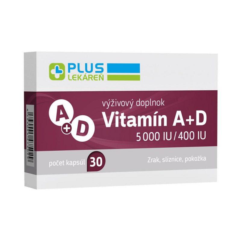 Vitamín A+D 5 000 IU/400 IU, 30 cps