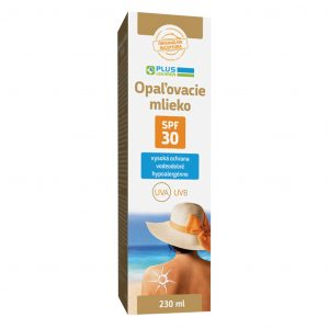 Opaľovacie mlieko SPF 30, 230 ml