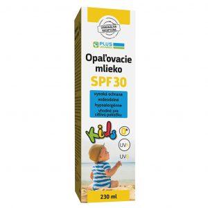 Opaľovacie mlieko KIDS SPF 30, 230 ml