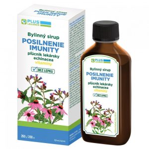 Bylinný sirup POSILNENIE IMUNITY, 200 ml