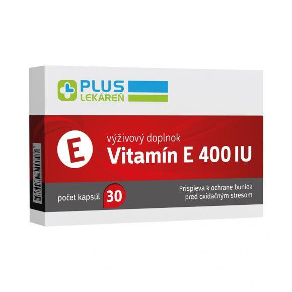 Vitamín E 400 IU, 30 cps