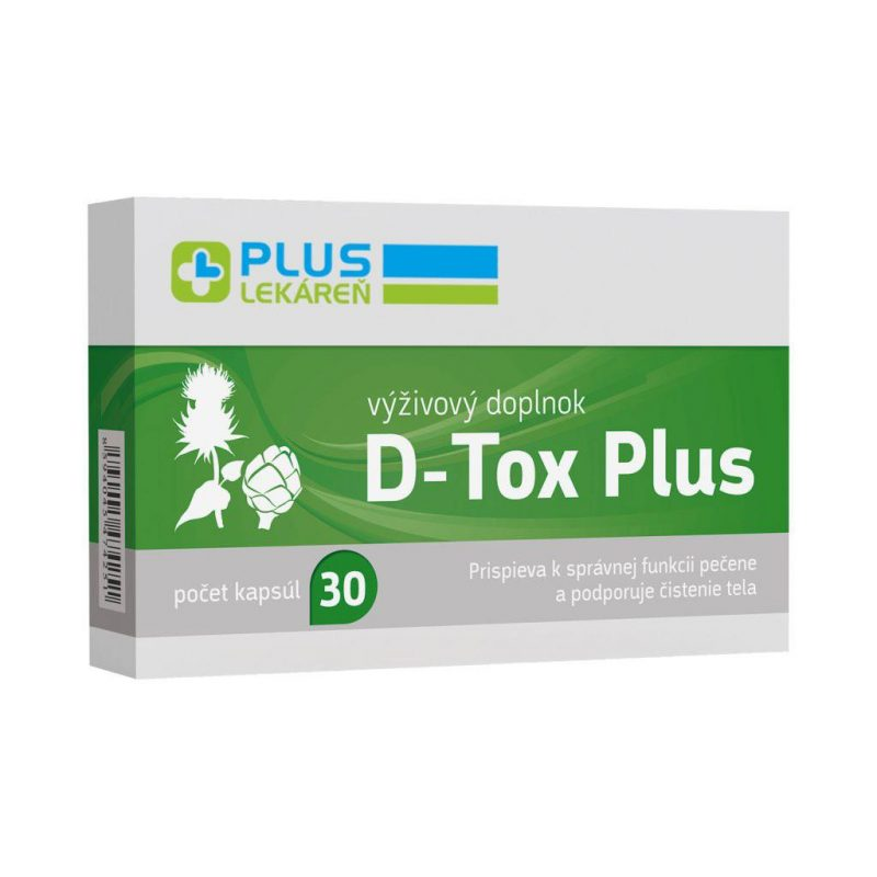 D-Tox Plus, 30 cps