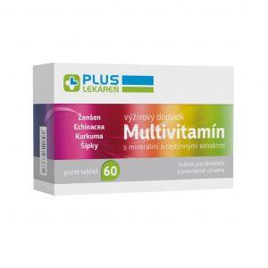 Multivitamín s minerálmi, 60 tbl