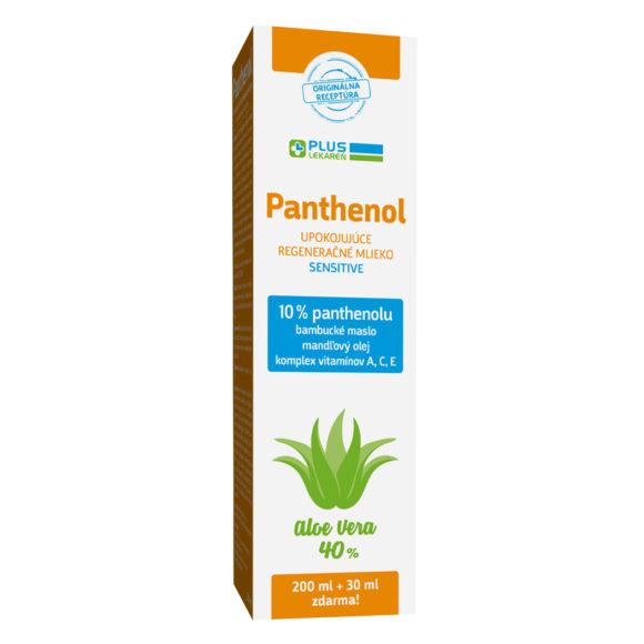 Panthenol 10 % mlieko, 230 ml