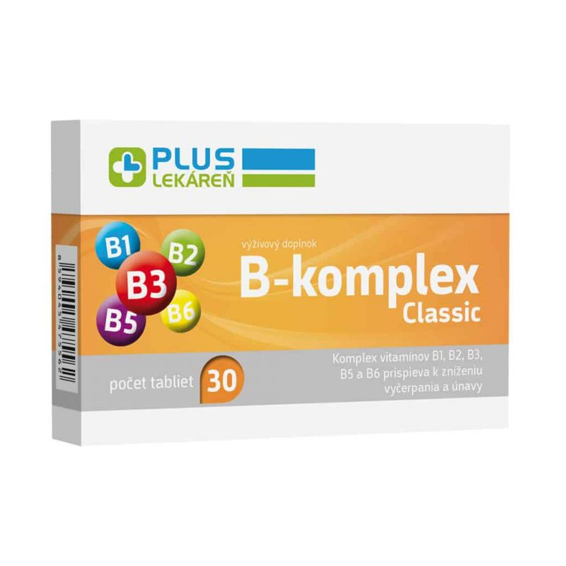 B-komplex classic, 30 tbl