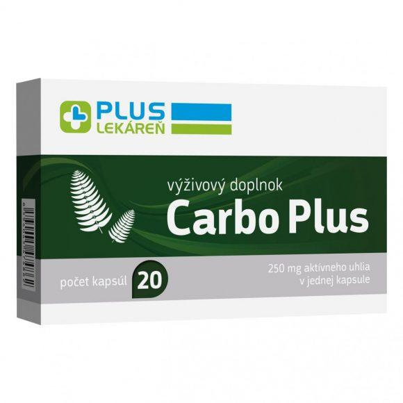 Carbo Plus 250 mg, 20 cps