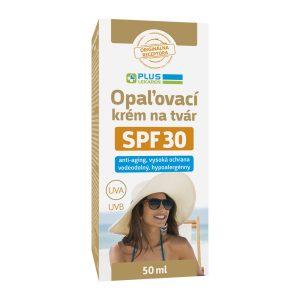 Opaľovací krém na tvár SPF 30, 50 ml