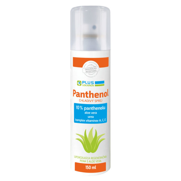 Panthenol 10 % SENSITIVE chladivý sprej, 150 ml