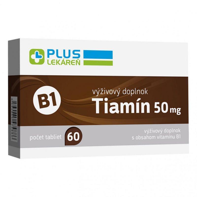 Tiamín 50 mg (vitamín B1), 60 tbl