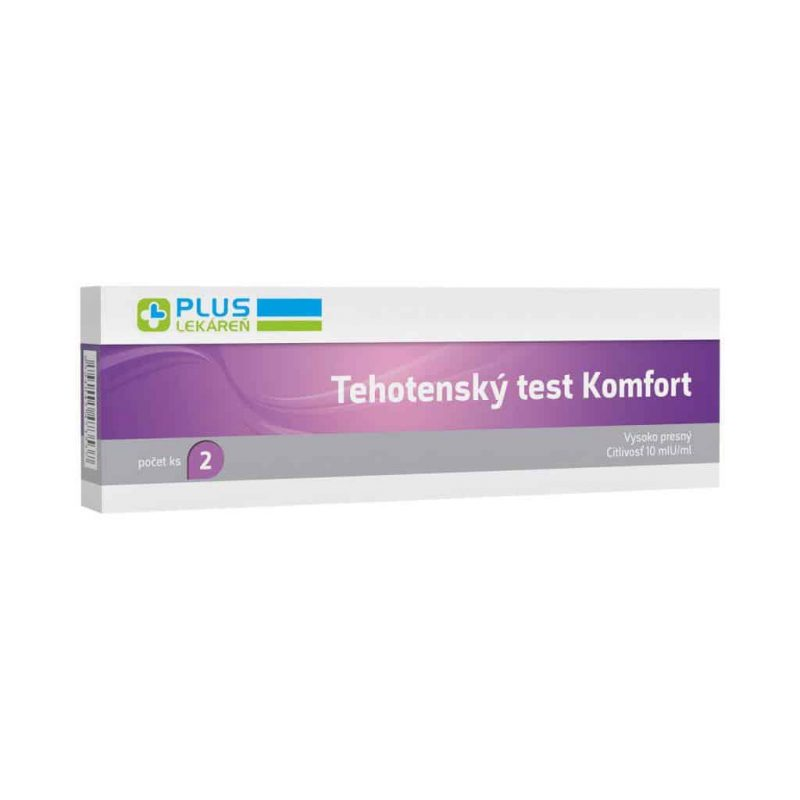 Tehotenský test Komfort 2 ks