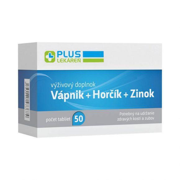 Vápnik + Horčík + Zinok, 50 tbl
