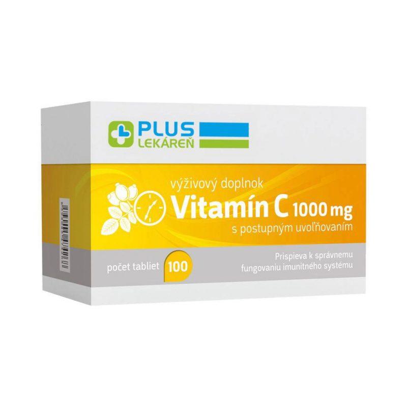 Vitamín C 1 000 mg 100 tbl
