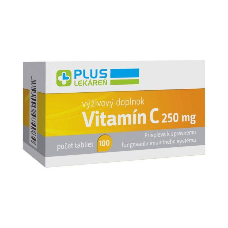 Vitamín C 250 mg 100 tbl