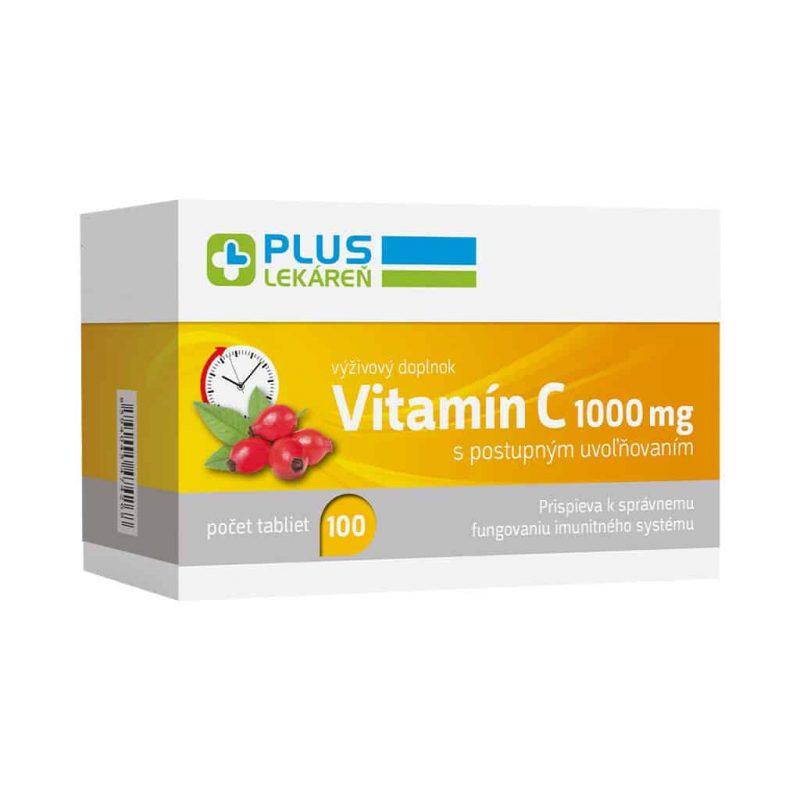 Vitamín C 1 000 mg, 100 tbl