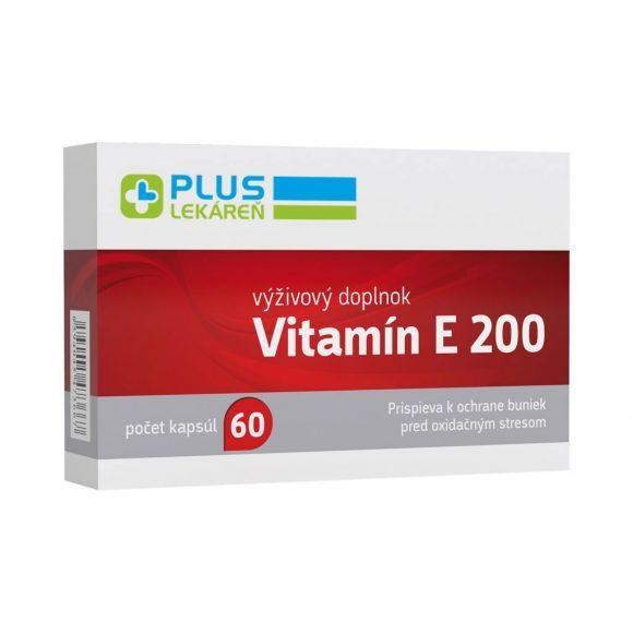 Vitamín E 200 60 cps