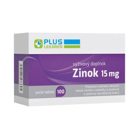 Zinok 15 mg, 100 tbl